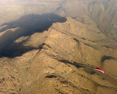 Paragliding AntiAtlas