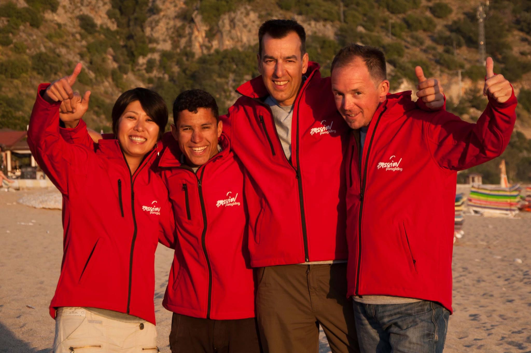 Passion Paragliding Instructors